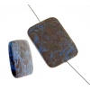 Paisley Jasper (Cobalt)30x40mm Rectangle 4Pcs Approx